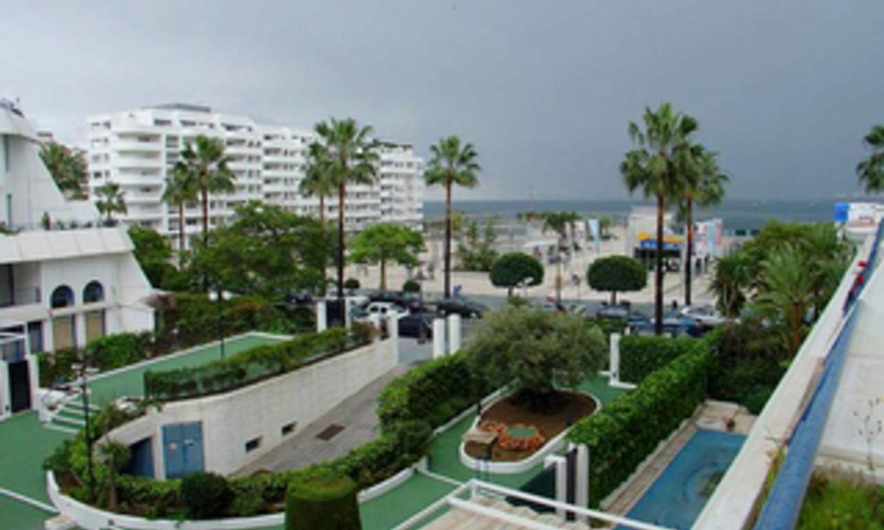 Marbella for sale: 2de lijn strand appartement te koop in Marbella centrum. 4