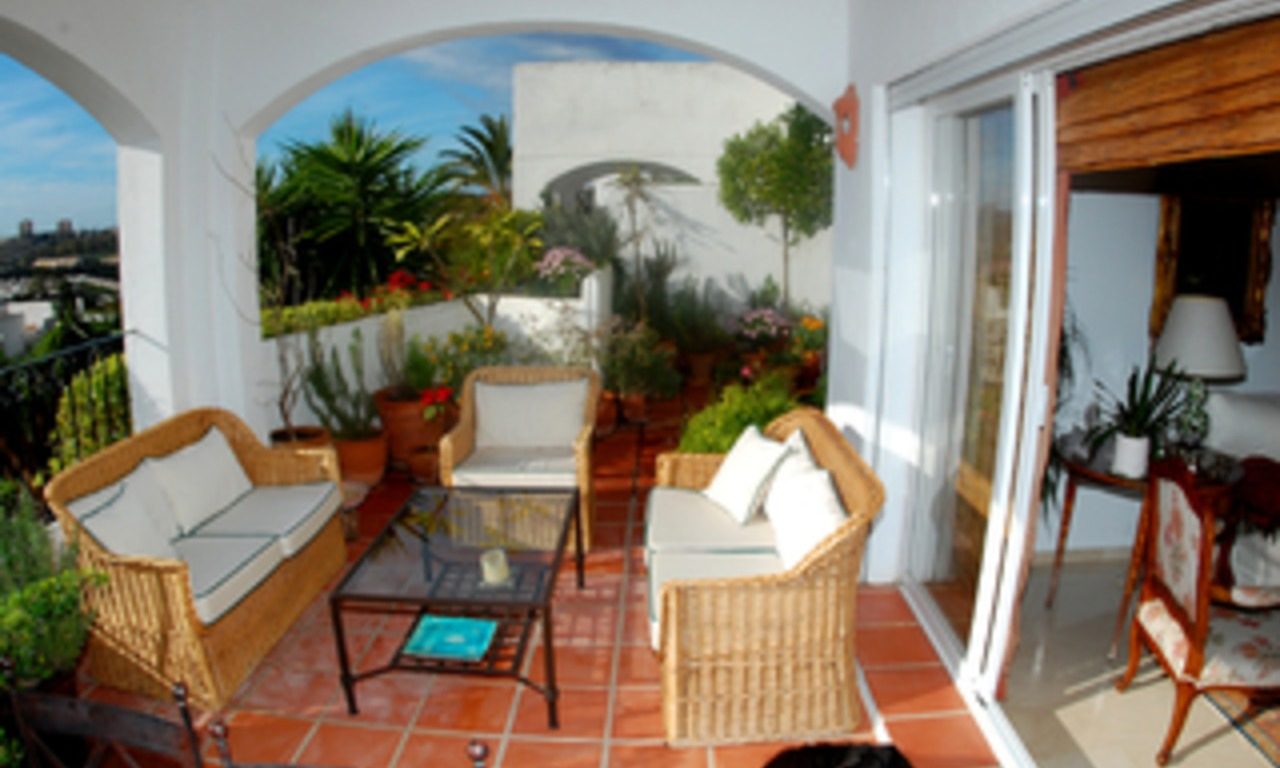Marbella for sale: Penthouse appartement te koop in Nueva Andalucia - Marbella 1