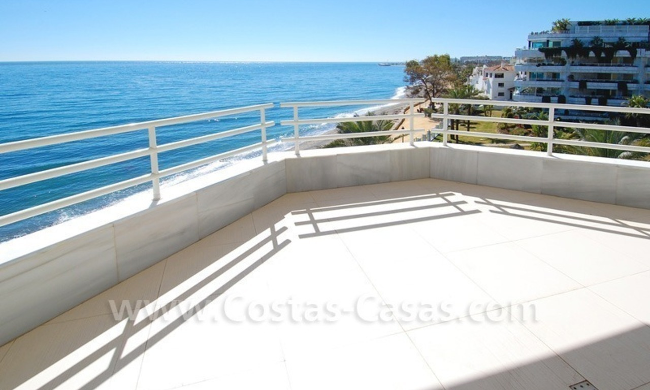 Beachfront modern appartement te koop, Golden Mile, Marbella 7