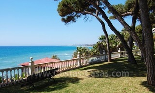 Ruim appartement te koop in een beachfront complex aan de Golden Mile in Marbella 2