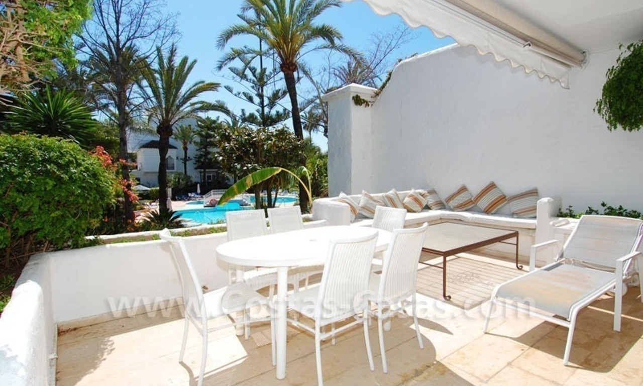 Ruim appartement te koop in een beachfront complex aan de Golden Mile in Marbella 19