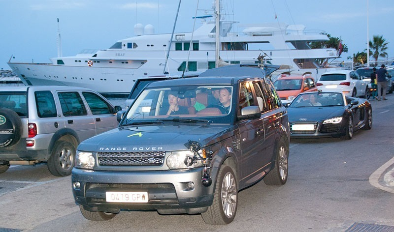 TOP GEAR in Puerto Banus, Marbella