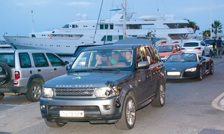 TOP GEAR in Puerto Banus, Marbella 0