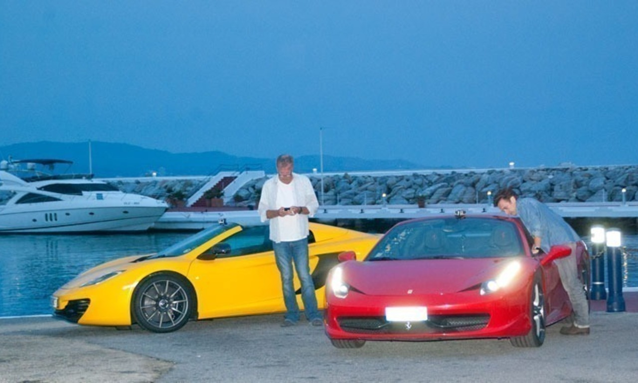 TOP GEAR in Puerto Banus, Marbella 3