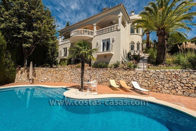 Luxueuze villa te koop op de Golden Mile in Marbella