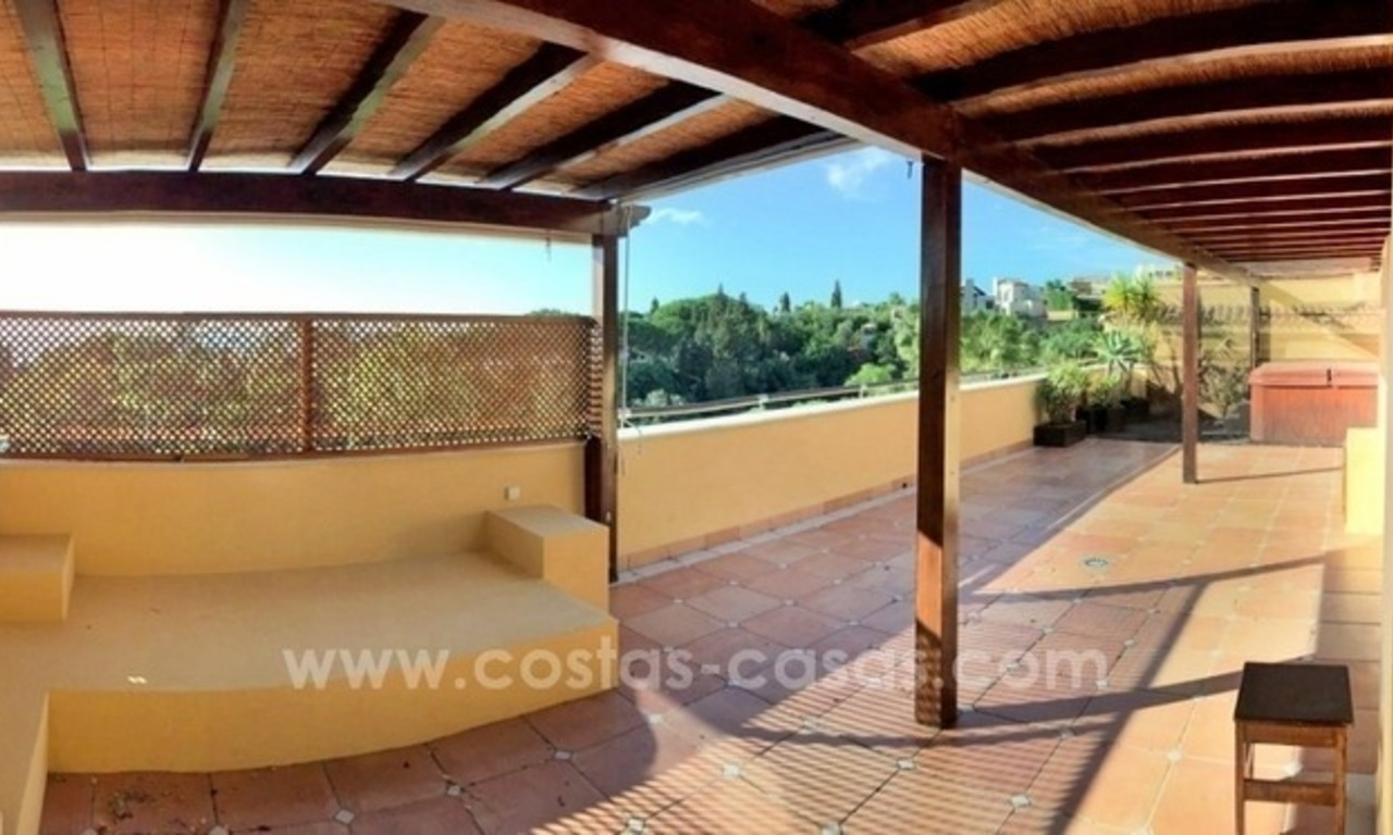 Luxe penthouse appartement te koop in Sierra Blanca, Golden Mile, vlakbij Marbella Centrum 1