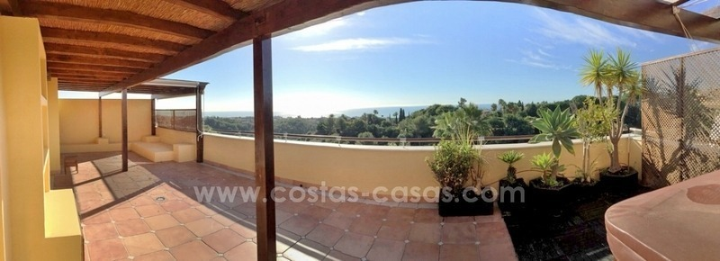 Luxe penthouse appartement te koop in Sierra Blanca, Golden Mile, vlakbij Marbella Centrum