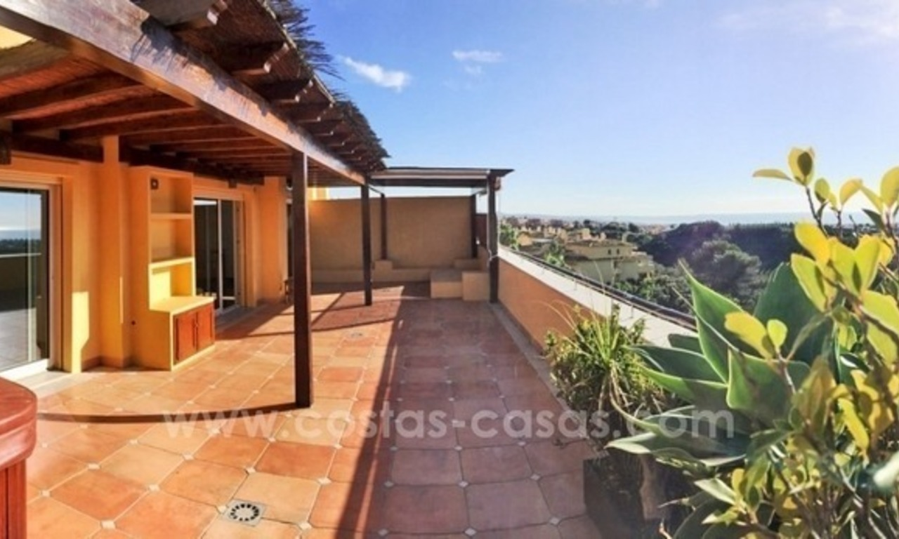 Luxe penthouse appartement te koop in Sierra Blanca, Golden Mile, vlakbij Marbella Centrum 2
